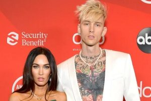 Megan Fox and Machine Gun Kelly Get Lovey-Dovey In The Indy 500 Weekend Concert